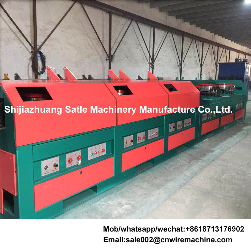 Automatic steel wire making machine drawing device/equipment