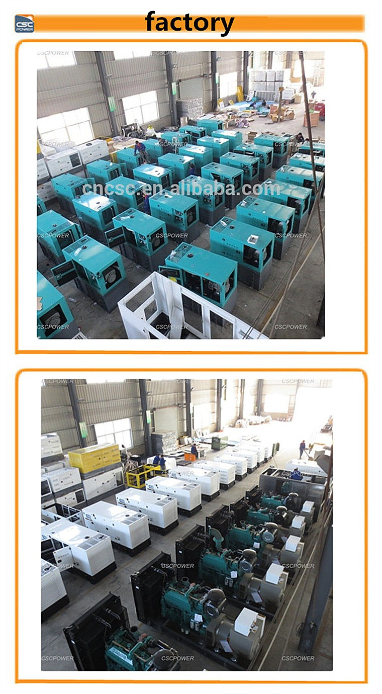 Factory price hot sale 50kw china generator with weifang engine