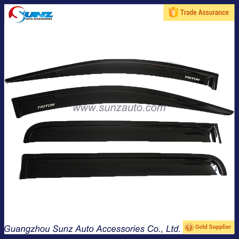 window visor weather guards deflector for l200 triton 2015 wind visor shield l200 triton 2015 alibaba china car accessories
