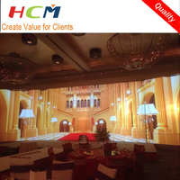 Wedding background decoration led display board/led screen tv
