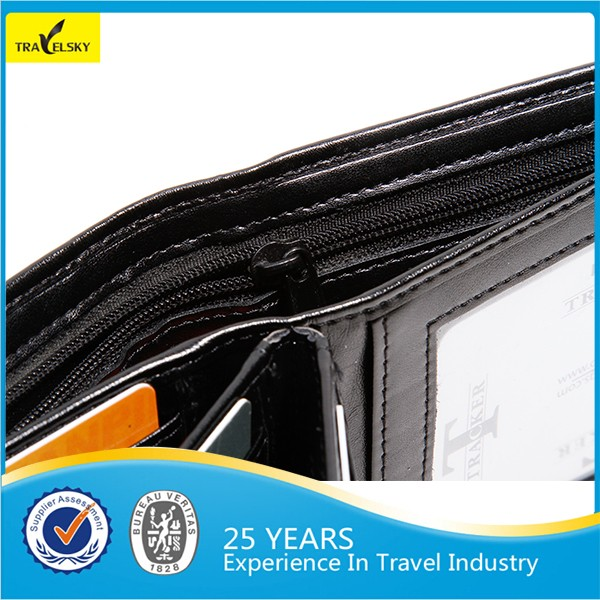 Promotion Man RFID Blocking Genuine Leather Wallet,men wallet