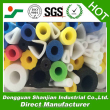 Customized diameter hollow foam tubes/round foam tube