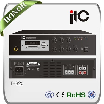 ITC T-B20 Digital Mini Power Mixer Amplifier Mp3 Mixing Amplifier