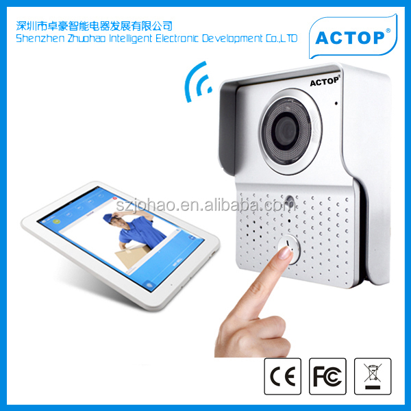 ACTOP wifi video door intercon wireless