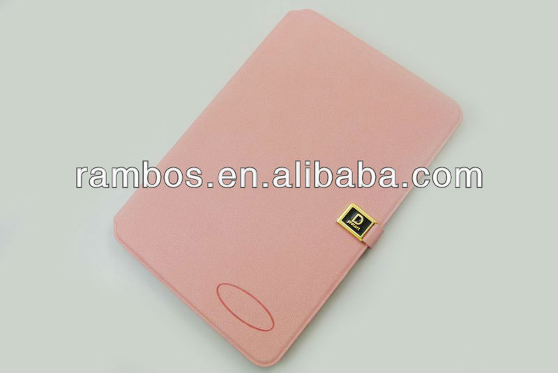 Tablet magnetic smart leather cover case with card holder for iPad mini