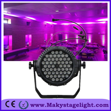china led par cans Outdoor 54x3 led stage par can RgbW 4 in 1 quad-color led par can