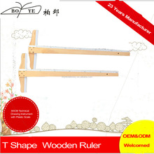 Technical Drawing Instrument 60CM T Shape Wooden Ruler /T-Square Ruler drawing stencil ruler