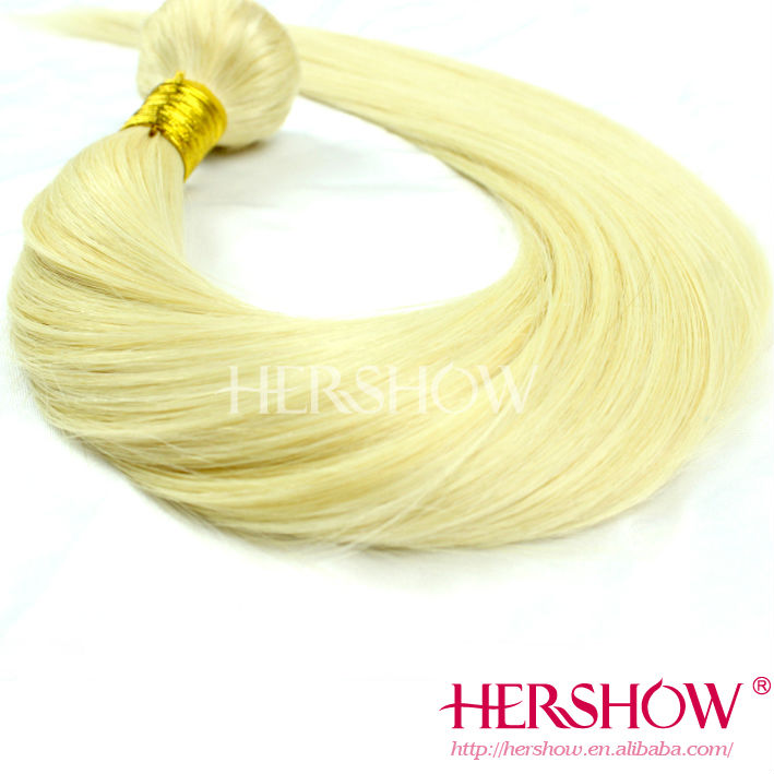 New Arrival factory wholesale high Quality shedding free no tangle blonde 613 virgin russian straight hair