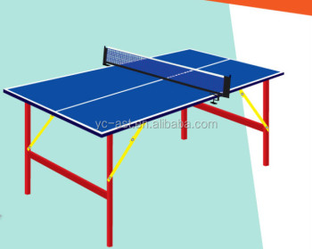 Indoor Sports Mini Ping Pong Table For Children