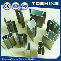 Standard prices aluminum windows and doors profile in china