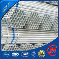 China origin hot dipped galvanized round section welded steel pipe