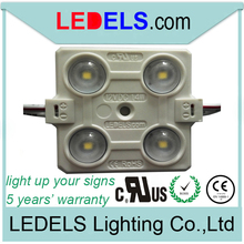 LL-F12T3838W4D UL listed waterproof ,5 years warranty,12v 88lm everlight 4 leds 2835 160 degree led module LL-F12T3838W4A160