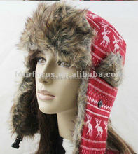 Keep Warm with Earflaps winter warm hat