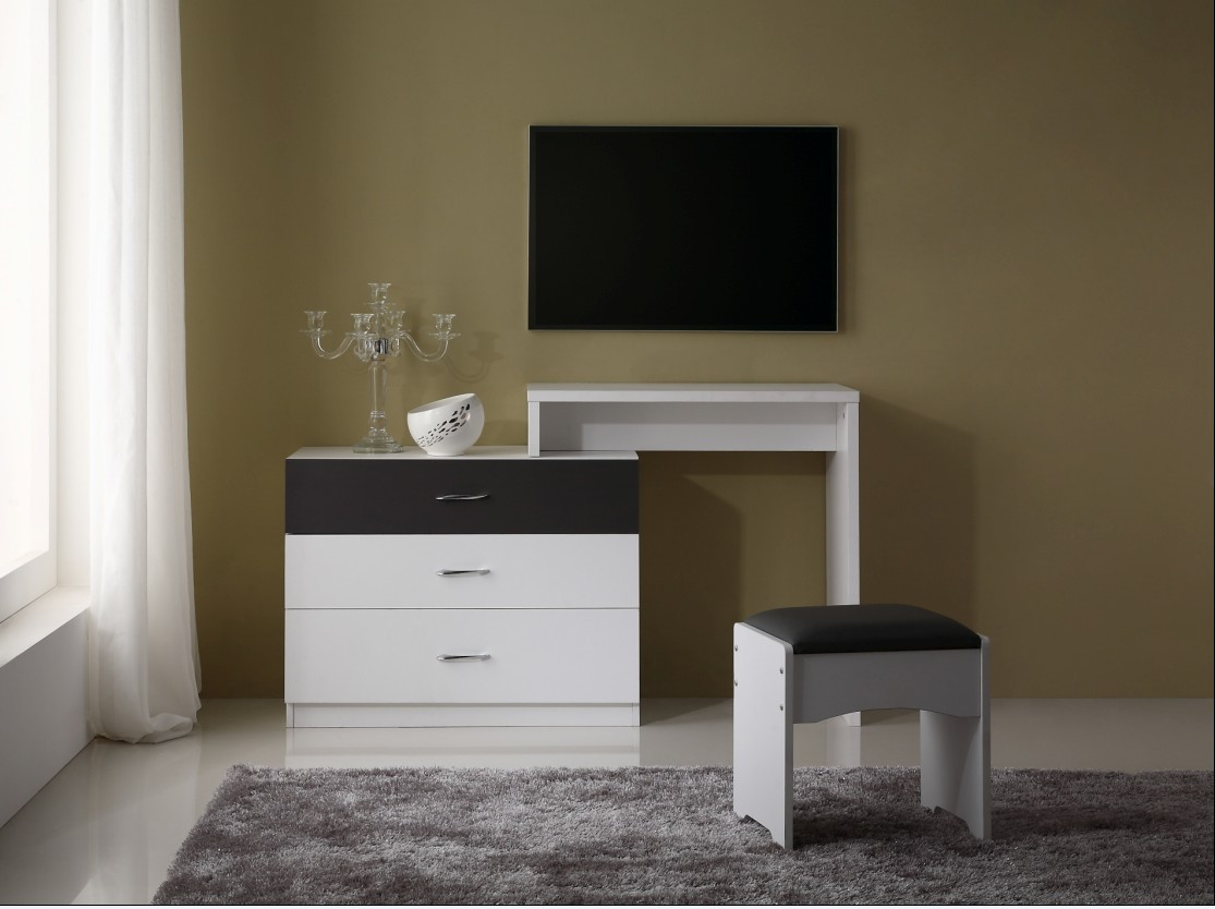 Dressing table designs - 2014 Hot Sale New Design Dressing Table Was Made From E1 Solid Chipboard And Chrome With Painting For Bedroom Furniture Buy New Design Dressing Table
