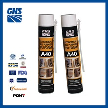 GNS A40 non-flammable concrete roof pu foam