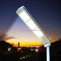 Integrated Led Street Lamp Outdoor Pathway Solar Street Light Park Lot