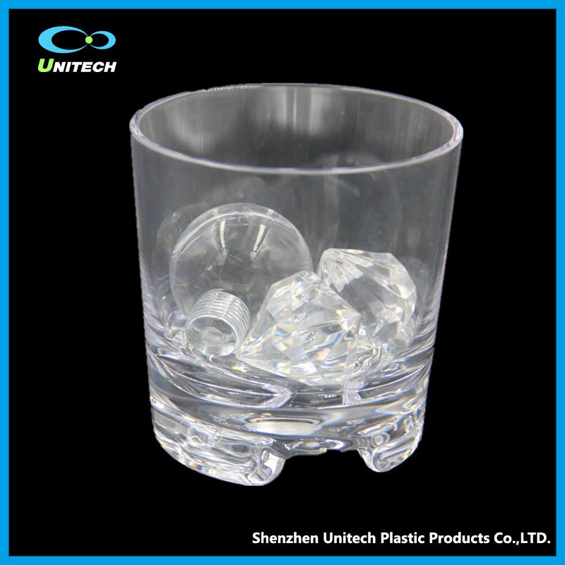 Professional Manufacturer plastic wine glass decorating ideas acrylic plastic cups