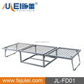 hotel bed base metal single folding bed DJ-PQ04-1 (JL-FD01)