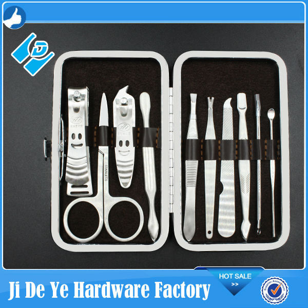 Manicure and Pedicure care nails tools sets