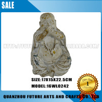 Resin Laughing Buddha Statue For Sale (16WL0242)