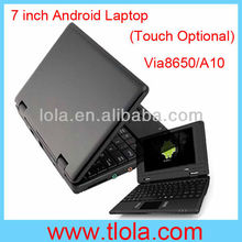 7 inch Google Android Mini Laptop Via8850 for Kids