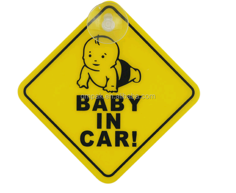 Baby On Board & Child On Board Car Safety Signs