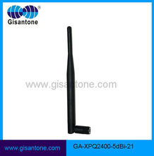 Factory Price Hot Sale 2.4G 5db Rubber Wifi Antenna