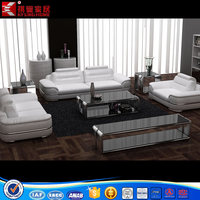Modern Living Room Sofa and TV Stand Set