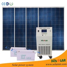4KW Residential Stand Alone off-grid Solar Power/Energy Home System for home use/kit+solar+fotovoltaico
