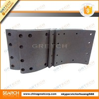 19384 truck brake linings for iveco, volvo