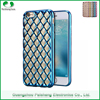 6 colors custom 100% smooth edges transparent clear electroplating TPU case for iPhone 6 / 6s plus back cover