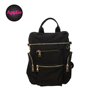 high quality waterproof nylon function zipper luggage travel laptop bag backpack