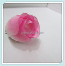 silk artificial stocking flower heads,similar with rose flower(AM-F-22)