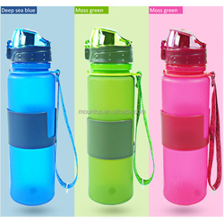 Cheap promotional durable fashion foldable water bottle sports direct