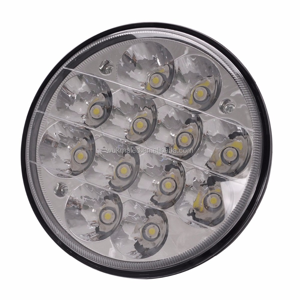 2pcs 5 inch 36W Round Led Spot Driving Light Work Lamp Offroad Truck Replace HID