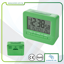 Novel Modern Electronic Temperature Alarm Clock With Digital LED Backlight