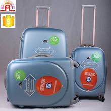 Classic Smile ABS Wholesale Trolley luggage bag travel luggage