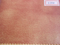 PVC upholstery leather