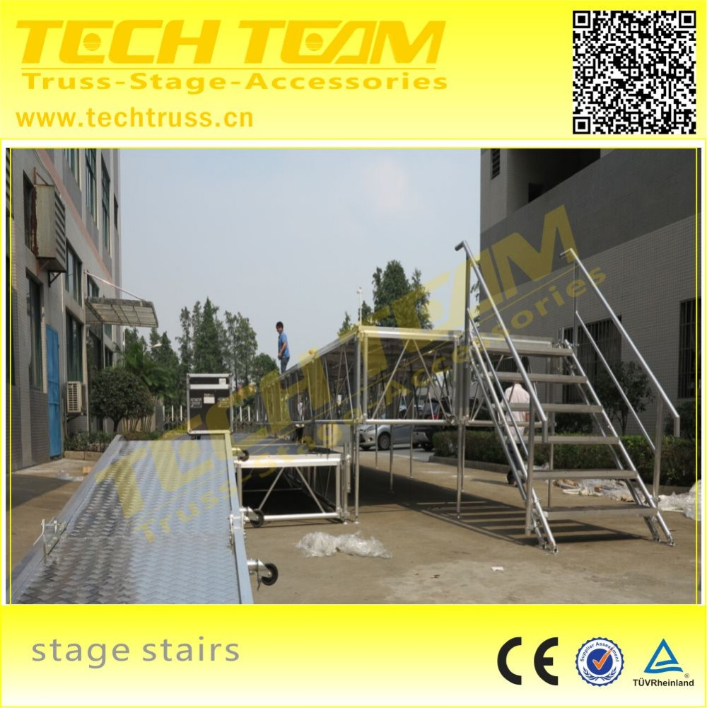 High Quality Metal Material Portable Mobile Hotel Stage