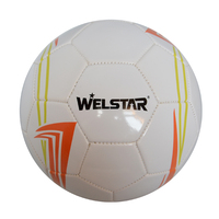 Brand New High Quality PVC Football Promotion Soccer Ball 5# Machine Stitched