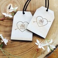 Blank Wood Gift Tags for Wine Or weddings Decor