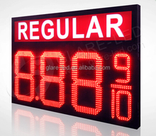 Petrol Station Wireless Control 7segment Digital Led Gas Price Display Signs