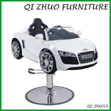 Salon kids barber chair/ children hair cutting salon chair car QZ-JXK024