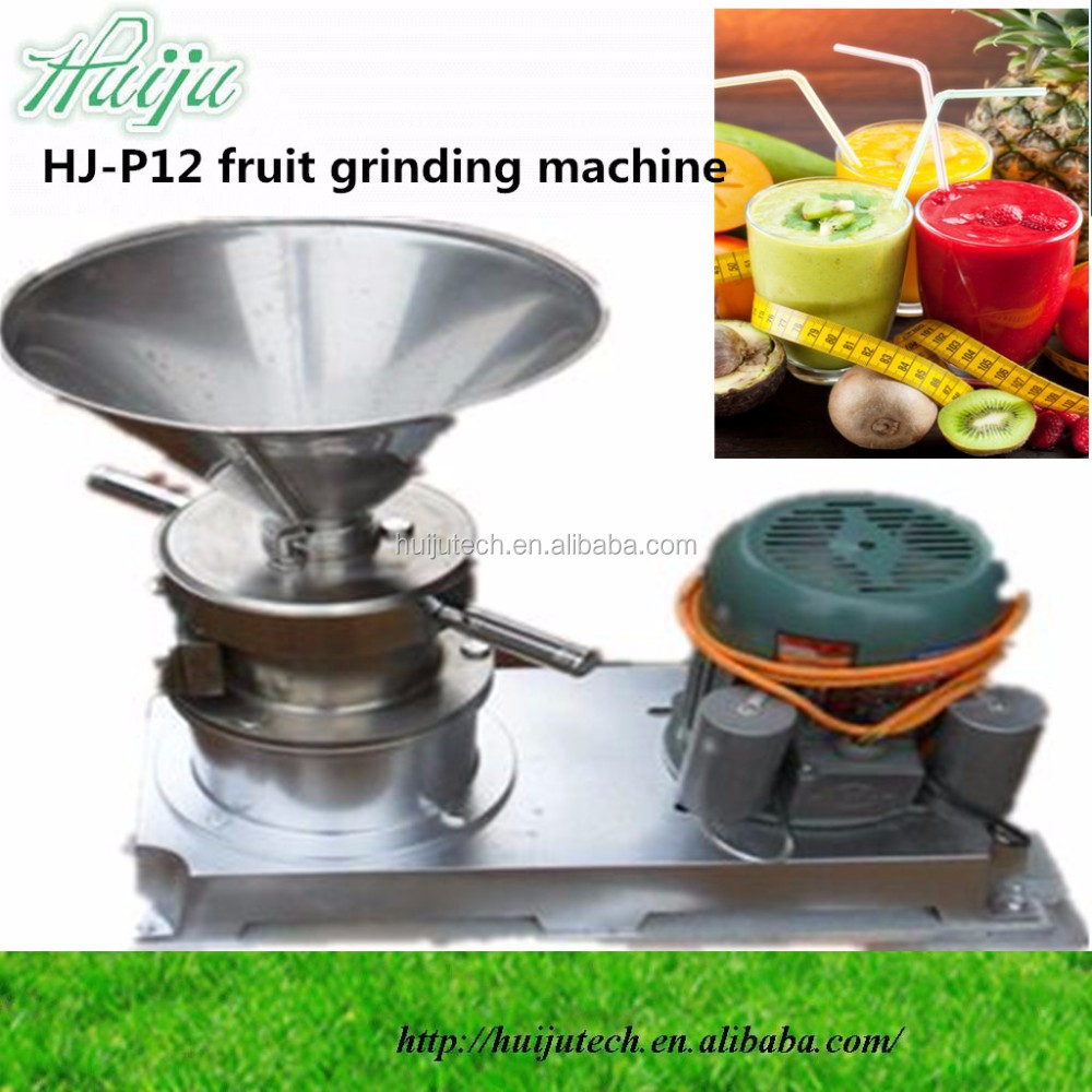 45kg/hour with frozen system grinding machine machine for fruits and vegetables HJ-P13