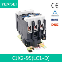 220V coil normally closed brands electric contactor for siemens ls lc1 d95