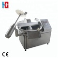 Automatic industrial bowl cutter for sausage processing