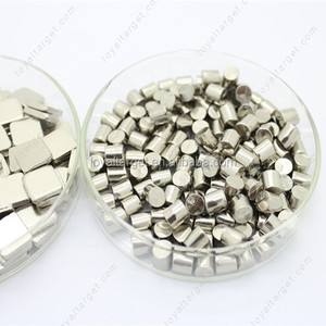 99.995% 3*3mm High Purity Nickel granule Nickel pellet for evaporation