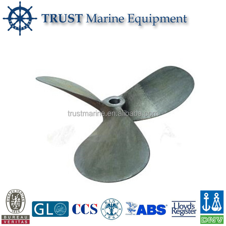 Yacht and jet ski small fan propeller for shaft system
