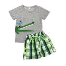 Baby Clothes Appliqued Summer <strong>Children</strong> Boy Clothing <strong>Sets</strong>