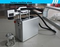 Convenient handheld fiber laser marking machine for metal engraving